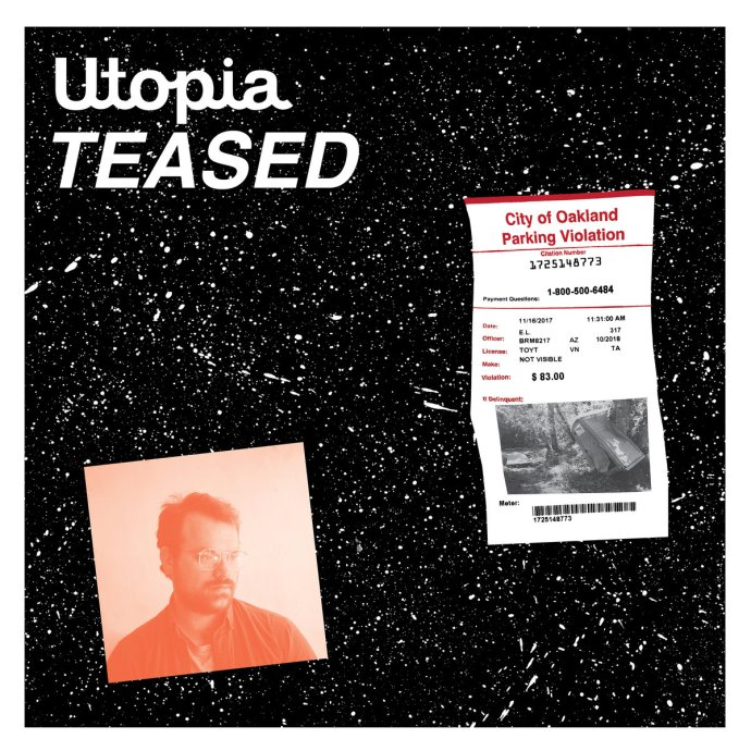 Stephen Steinbrink - Utopia Teased (2018) - Album Cover